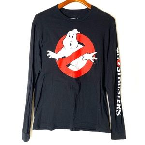 Ghostbusters black long sleeve graphic T/L